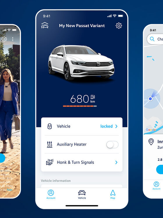 Volkswagen We Connect App