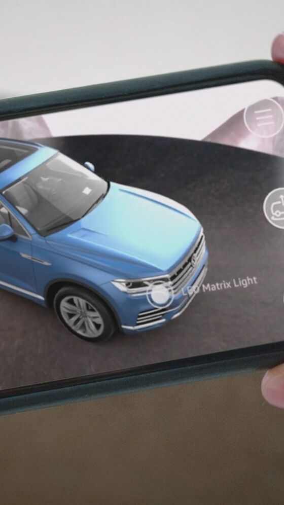 vw touareg app ar apple